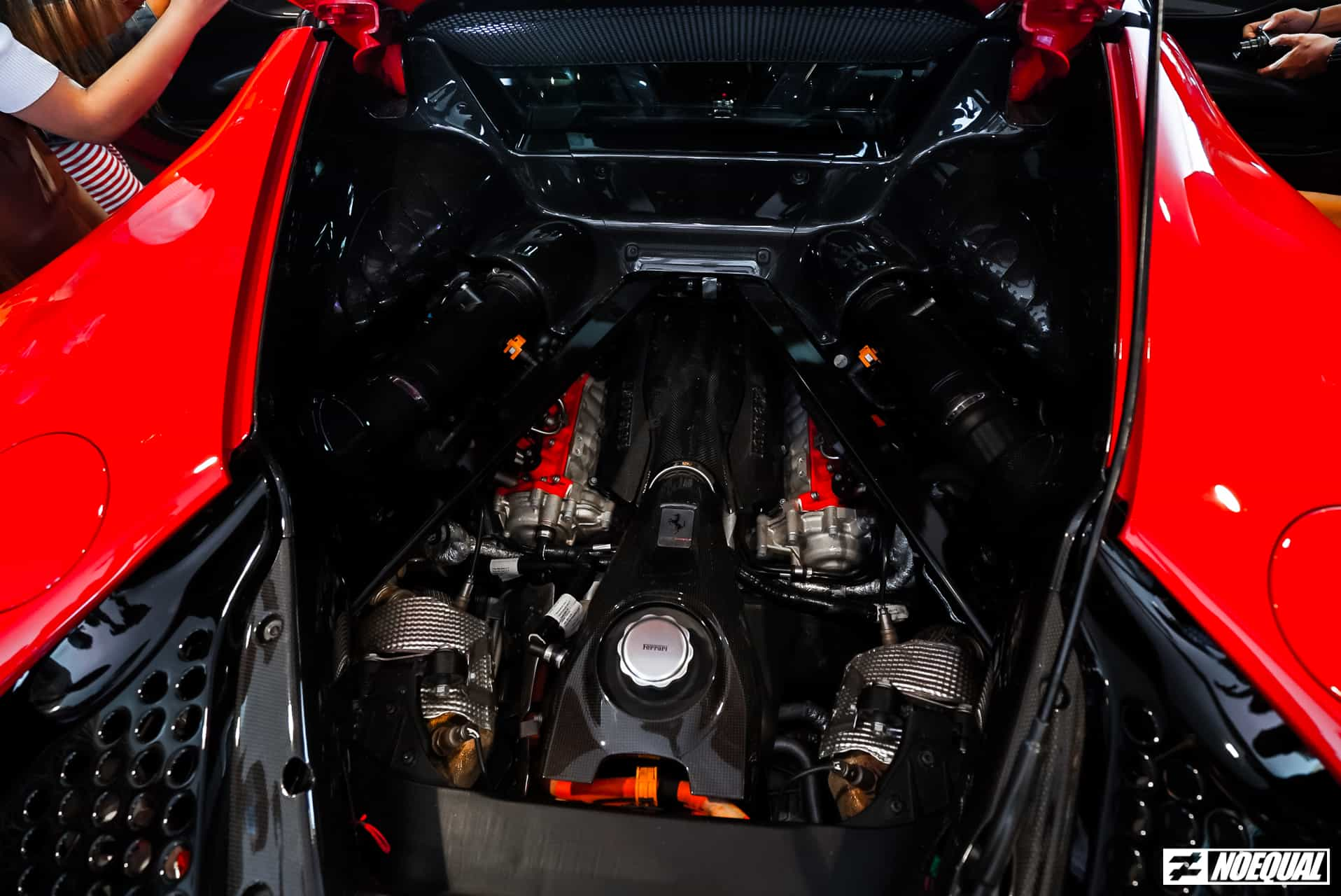 Ferrari SF90 Stradale Engine 2
